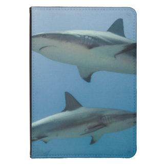 Tiburón del Caribe del filón Funda De Kindle