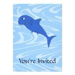 Tiburón del dibujo animado anuncio