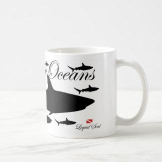 Tiburón del filón - ahorre nuestros océanos taza