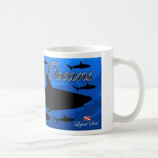 Tiburón del filón - ahorre nuestros océanos taza clásica