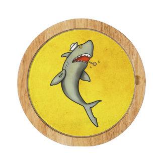 Tiburón del marinero de la escuela vieja