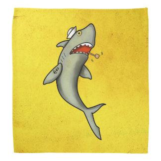 Tiburón del marinero de la escuela vieja bandanas