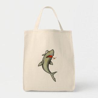 Tiburón del marinero de la escuela vieja bolsa tela para la compra