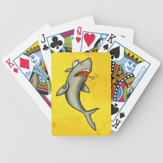 Tiburón del marinero de la escuela vieja cartas de juego