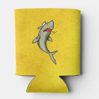 Tiburón del marinero de la escuela vieja enfriador de latas