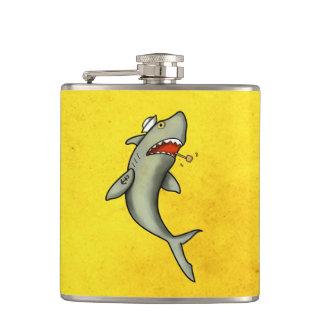 Tiburón del marinero de la escuela vieja petaca