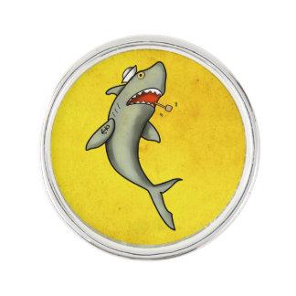 Tiburón del marinero de la escuela vieja pin