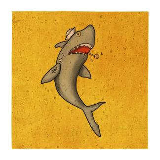 Tiburón del marinero de la escuela vieja posavasos