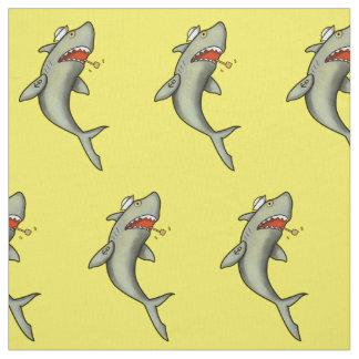 Tiburón del marinero de la escuela vieja telas