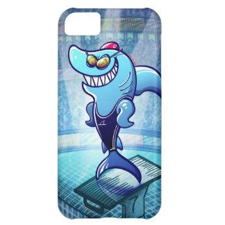 Tiburón del nadador funda iPhone 5C