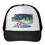 Tiburón del navidad gorros