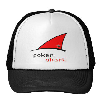 tiburón del póker gorro