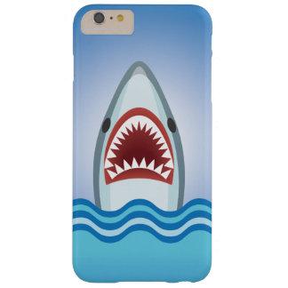 Tiburón divertido funda de iPhone 6 plus barely there