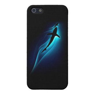 Tiburón él iPhone 5 funda