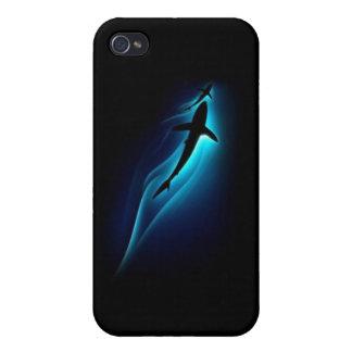 Tiburón él iPhone 4/4S carcasa