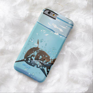 Tiburón en el tarro funda de iPhone 6 barely there