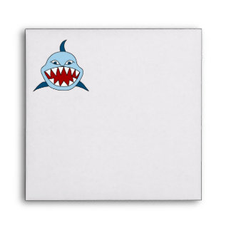 Tiburón enojado sobre