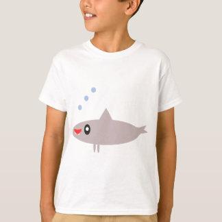Tiburón feliz playera