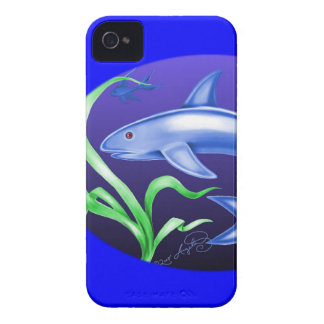 Tiburón Case-Mate iPhone 4 Funda