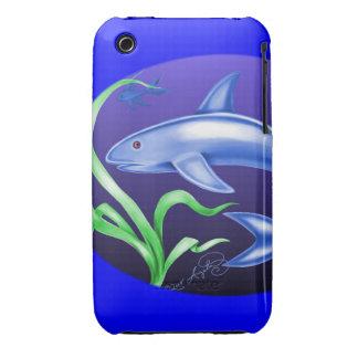 Tiburón Case-Mate iPhone 3 Carcasas