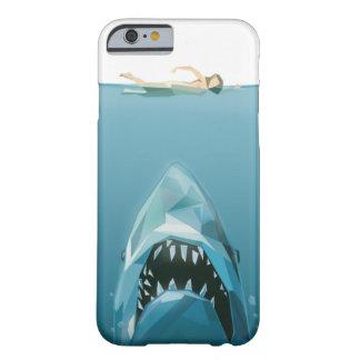 tiburón funda para iPhone 6 barely there
