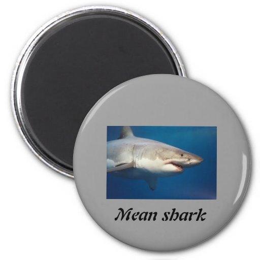 tiburón imán para frigorifico