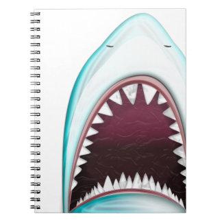 Tiburón Libretas Espirales