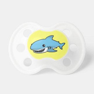 Tiburón lindo chupete de bebe