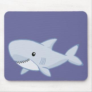 Tiburón lindo tapetes de ratón