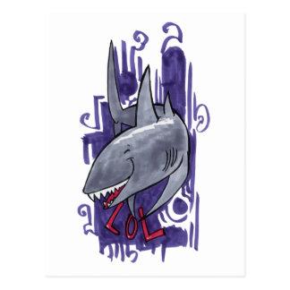 Tiburón LOL Postales