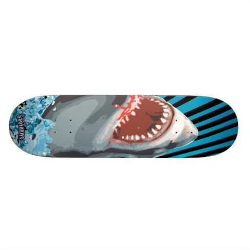 ¡Tiburón! Monopatines