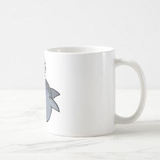 Tiburón principal de la almádena taza