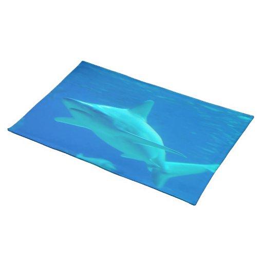 Tiburón que nada Placemat Mantel