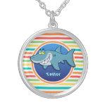 Tiburón; Rayas brillantes del arco iris Joyerias