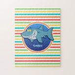 Tiburón; Rayas brillantes del arco iris Rompecabeza