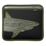 Tiburón salvaje fundas para iPads