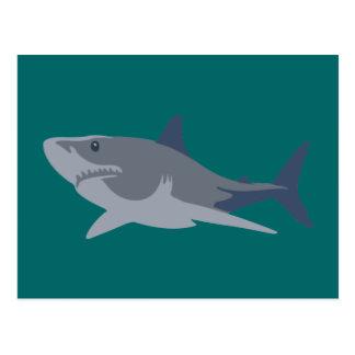 Tiburón shark postales