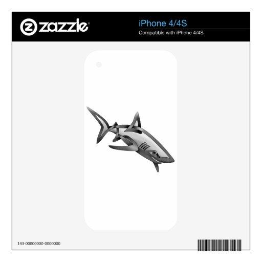 Tiburón Skins Para eliPhone 4