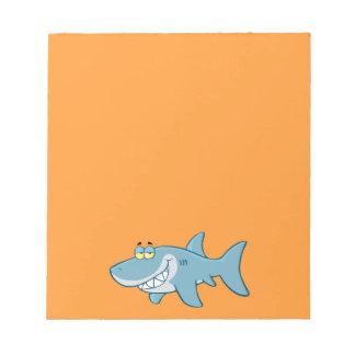 Tiburón sonriente bloc