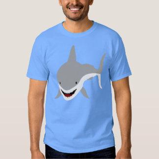 Tiburón sonriente camisas