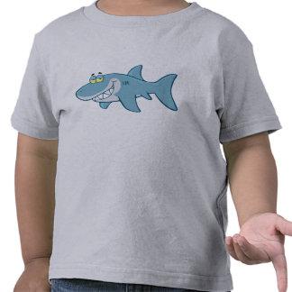 Tiburón sonriente camiseta