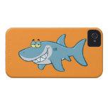 Tiburón sonriente iPhone 4 protector