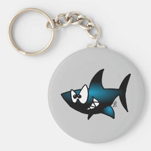 Tiburón sonriente llavero