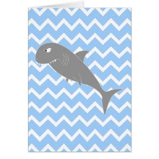 Tiburón Tarjeta De Felicitación