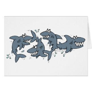 ¡Tiburón! Tarjeta Pequeña