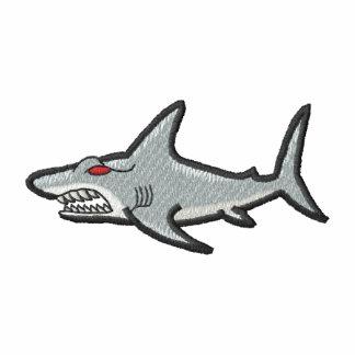 Tiburones Camiseta Polo Bordada
