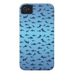 Tiburones Case-Mate iPhone 4 Carcasa