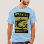 tiburones con los rayos laser del frickin atados playera
