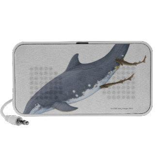 Tiburones de Cookiecutter Altavoz De Viajar