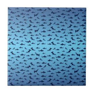 Tiburones de la cabeza de martillo de Mutilple Azulejos Cerámicos